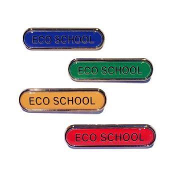 ECO SCHOOL bar badge